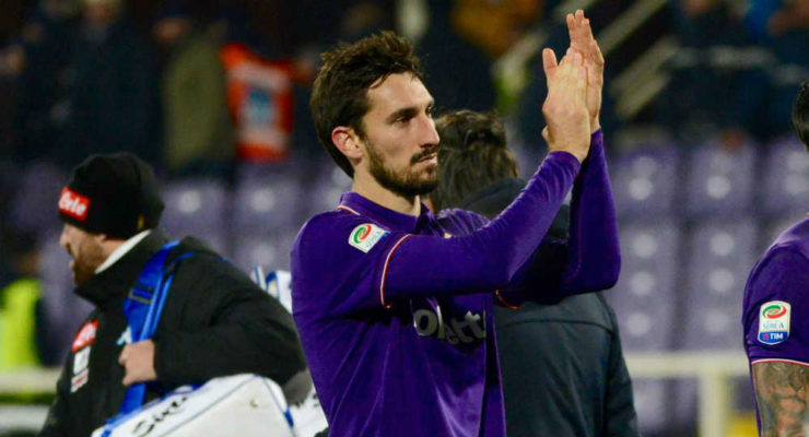 Astori-applausi Fiorentina