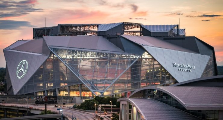 Mercedes Benz Stadium Atlanta stadio Fiorentina